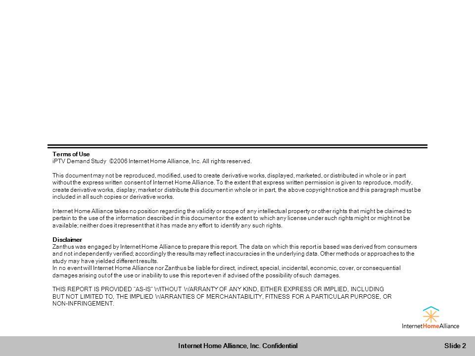 Slide 2 Internet Home Alliance, Inc.