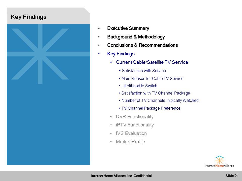 Slide 21 Internet Home Alliance, Inc.