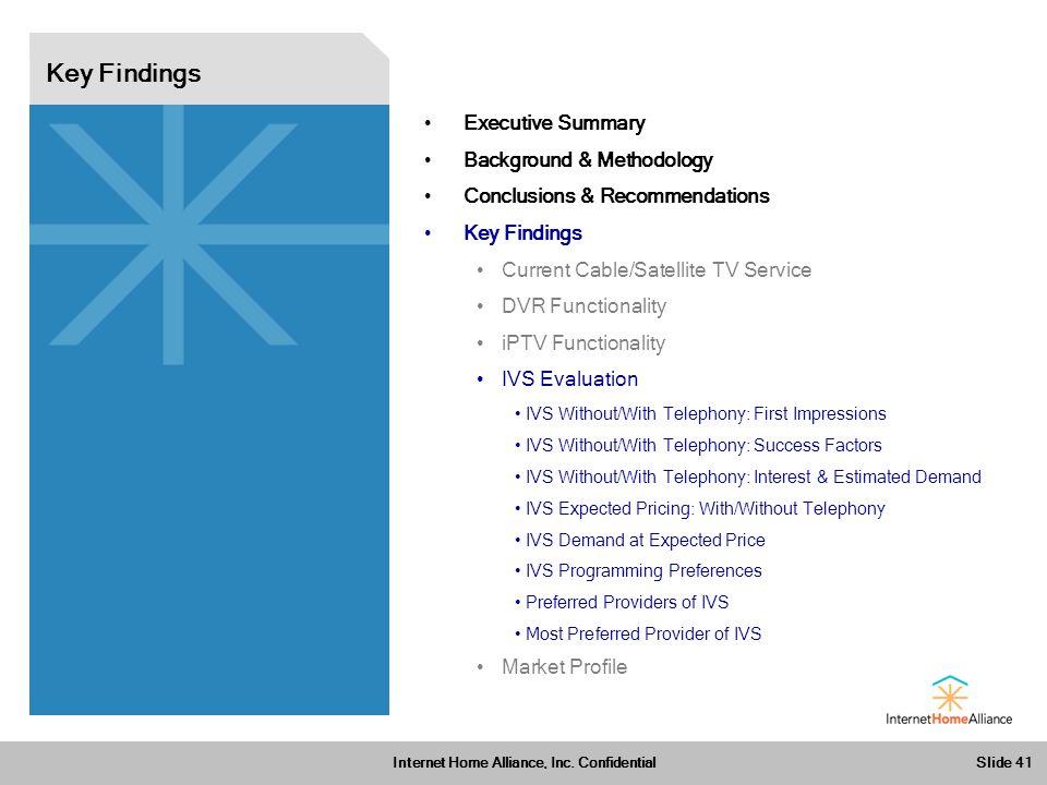 Slide 41 Internet Home Alliance, Inc.