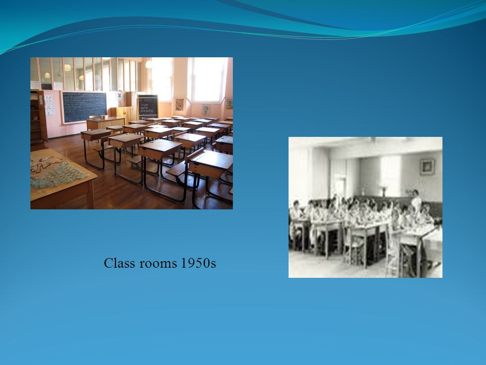 Class rooms 1950s
