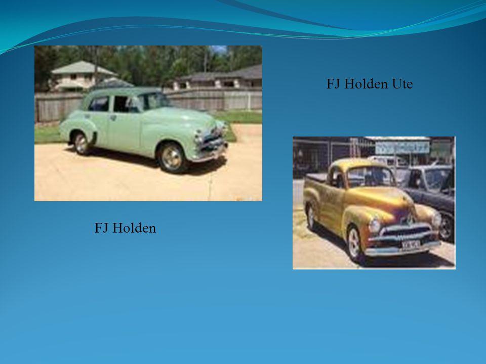 FJ Holden FJ Holden Ute