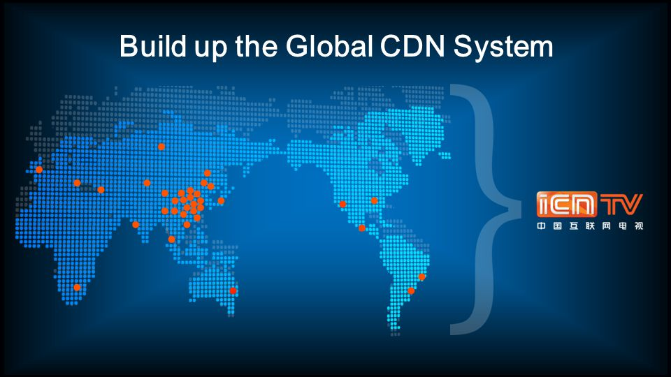 Build up the Global CDN System