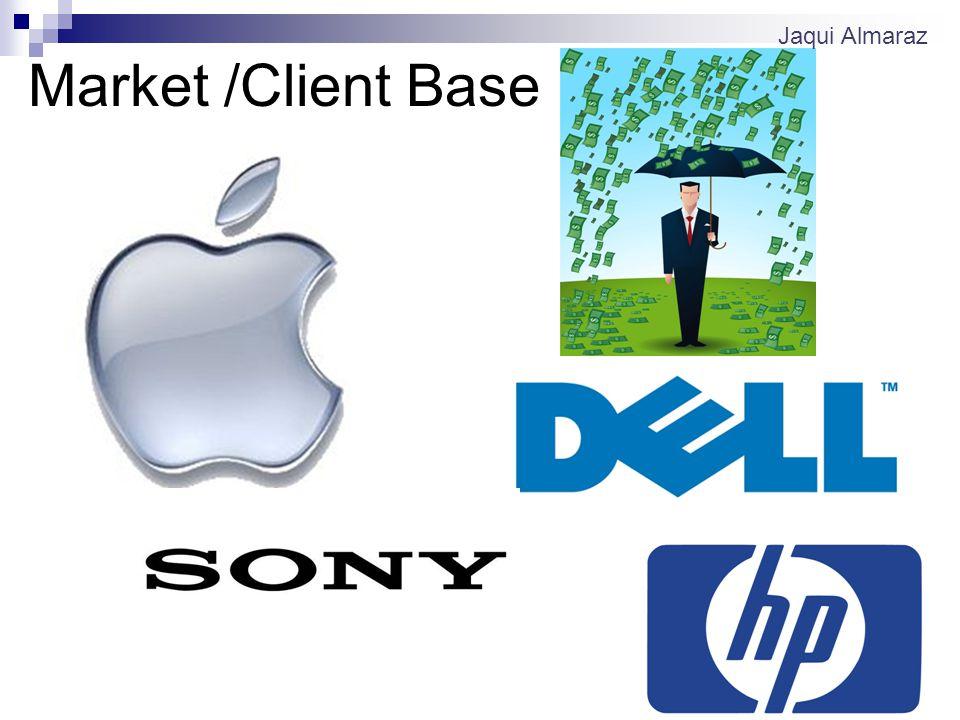 Market /Client Base Jaqui Almaraz