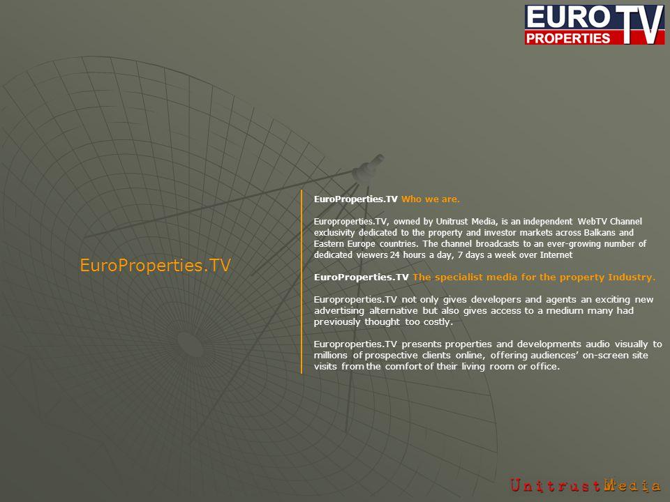 EuroProperties.TV Comprehensive media campaigns.
