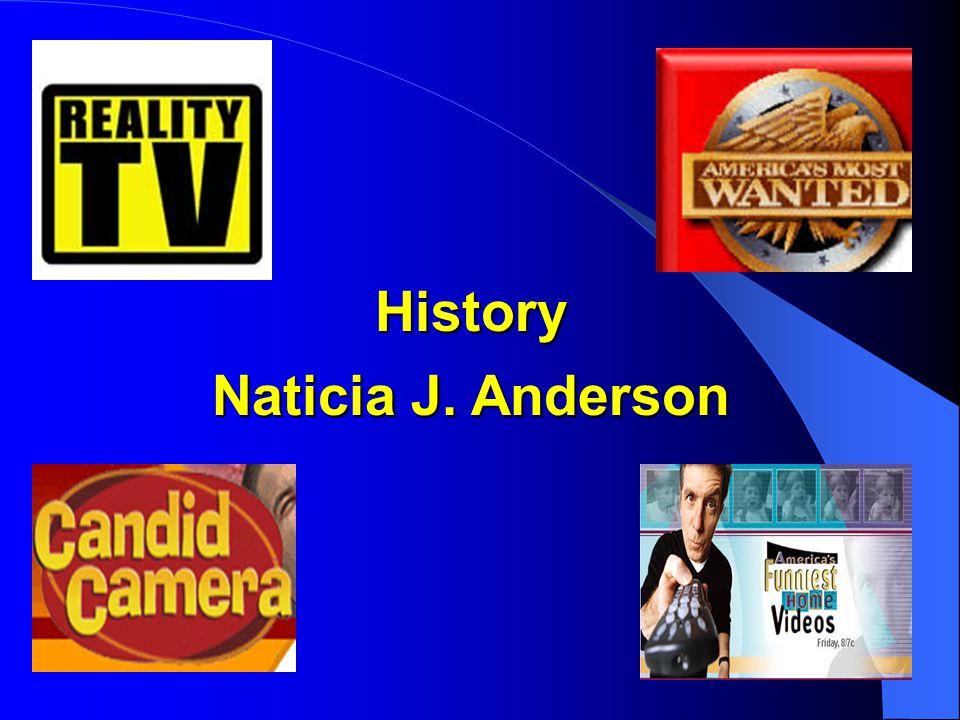 History Naticia J. Anderson