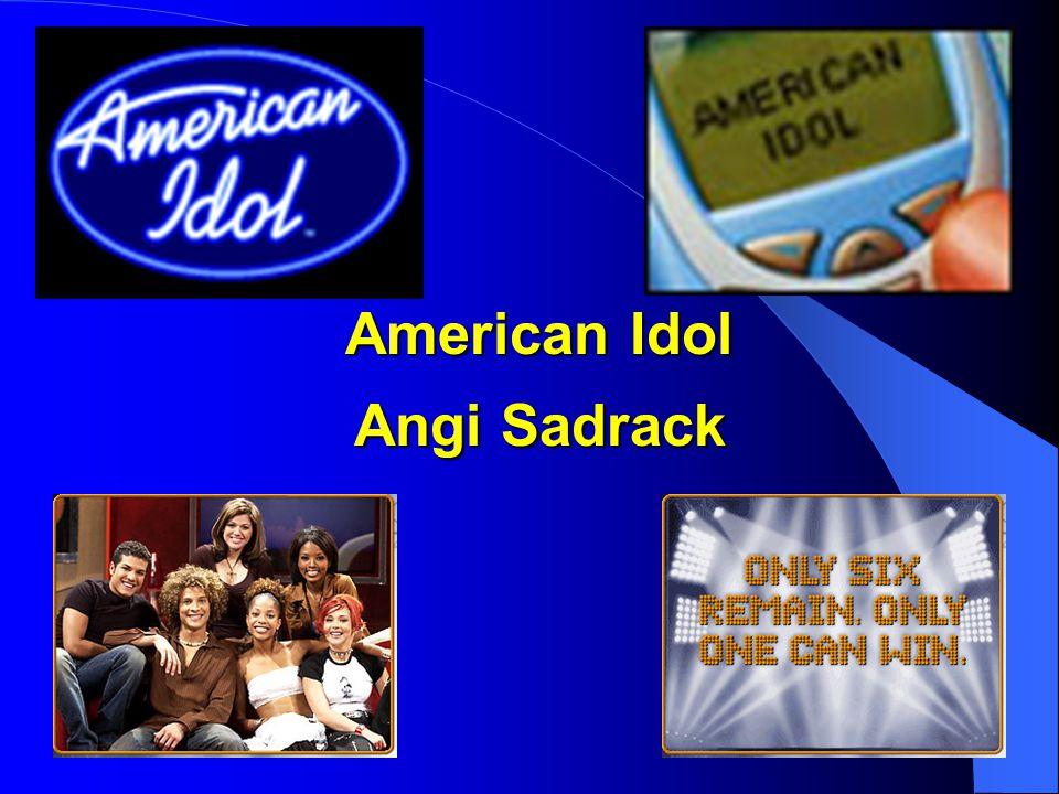 American Idol Angi Sadrack