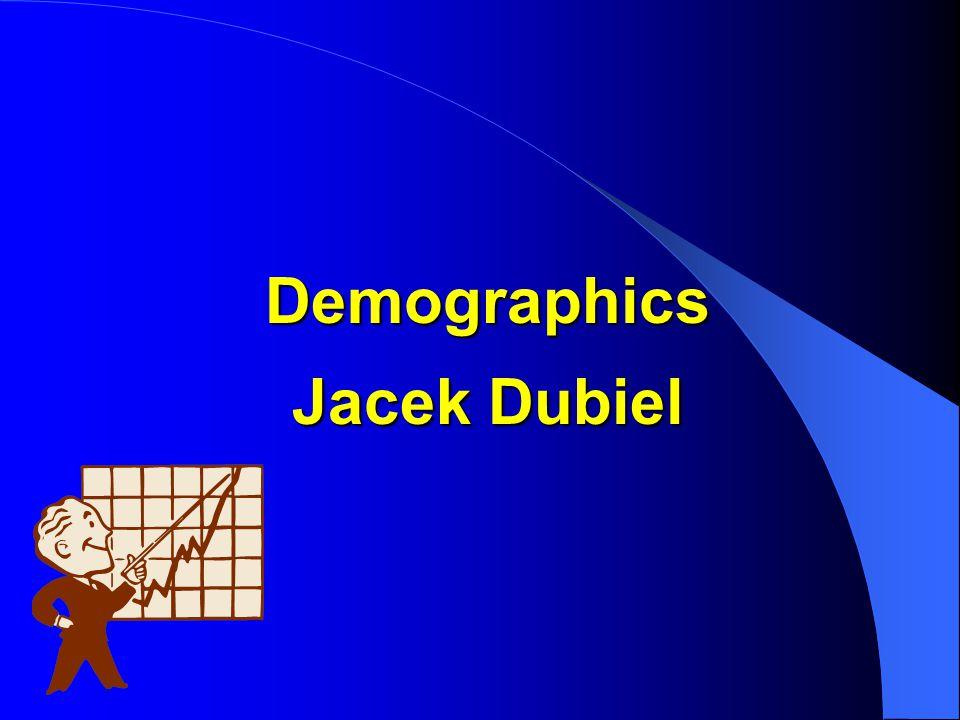 Demographics Jacek Dubiel
