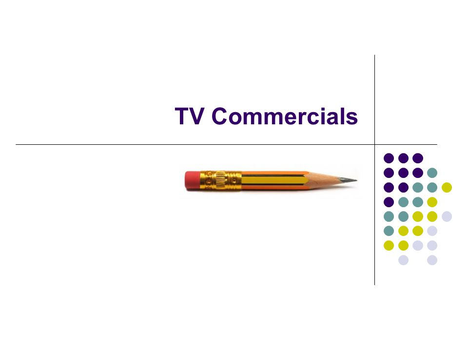 TV Compared to Print TV has strong impact, because more senses are engaged (with sound, image and motion).