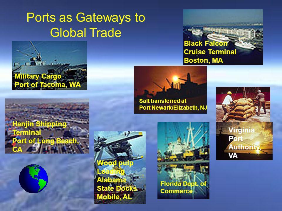 Virginia Port Authority, VA Wood pulp Loading Alabama State Docks Mobile, AL Florida Dept.