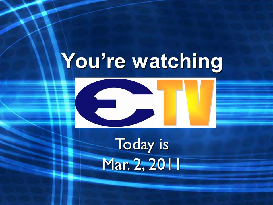 Youre watching Today is Mar. 2, 2011