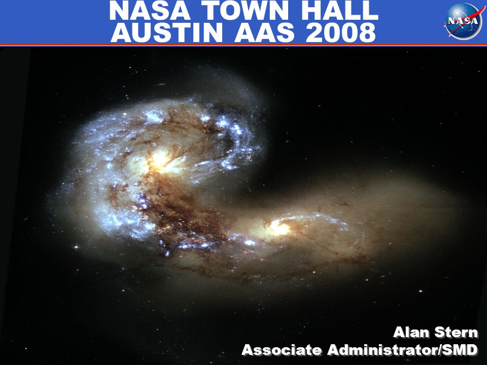 Alan Stern Associate Administrator/SMD Alan Stern Associate Administrator/SMD NASA TOWN HALL AUSTIN AAS 2008
