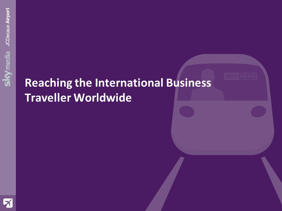The International Business Traveller 68% are business passengers: (36% UK/32% Foreign) 30% of HEX passengers fly First or Business class 10% of UK HEX passengers are C-suite Passenger Numbers / Frequency 4.8 million PAX per annum 69% of HEX passengers use HEX twice or more 15% of HEX passengers use HEX 21+ times a year