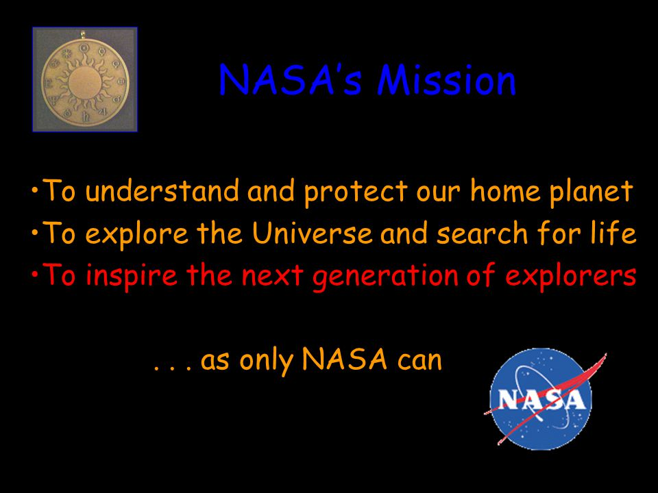 A View from the Top The most important result of NASA s Space Science program is the sense of wonder and imagination it inspires in America s youth.