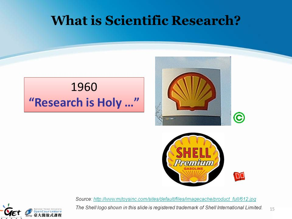 What is Scientific Research? 15 1960 Research is Holy … 1960 Research is Holy … Source: http://www.mjtoysinc.com/sites/default/files/imagecache/produc