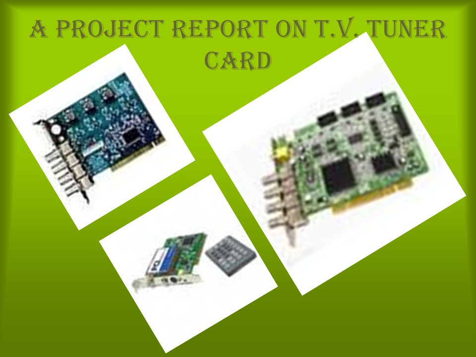 What is a TV tuner Card .How it works . Interface : Internal or External.