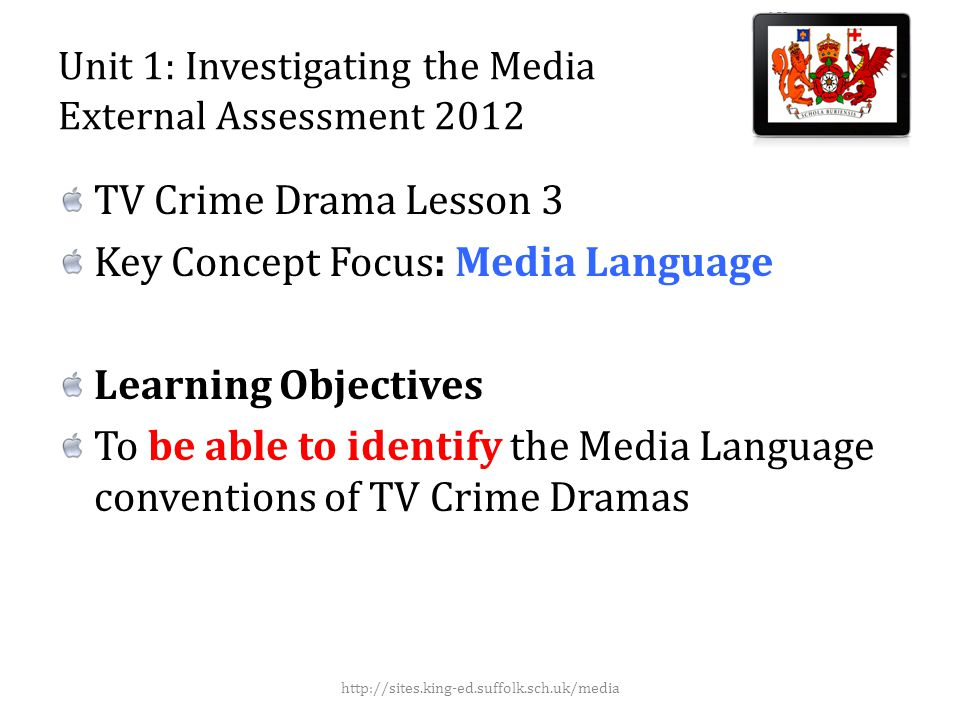 Today we will cover… Character Iconography Setting Narrative http://sites.king-ed.suffolk.sch.uk/media