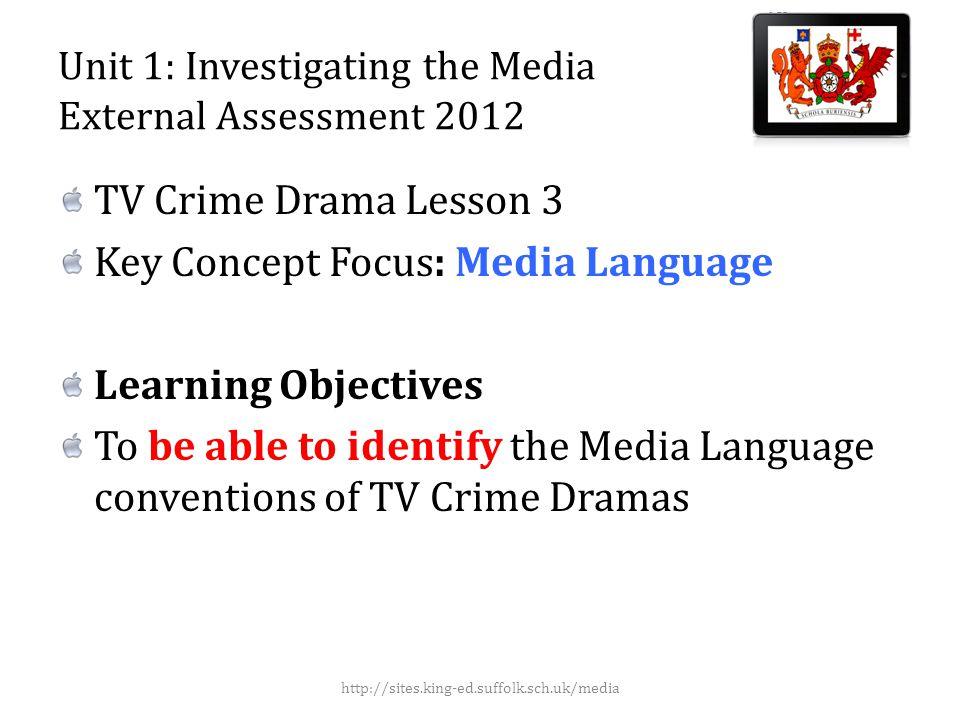 Media Language: Iconography http://sites.king-ed.suffolk.sch.uk/media