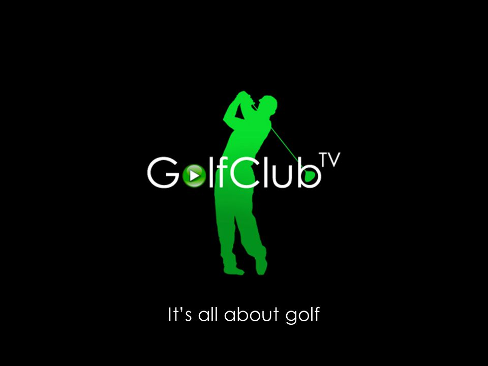 Its all about golf