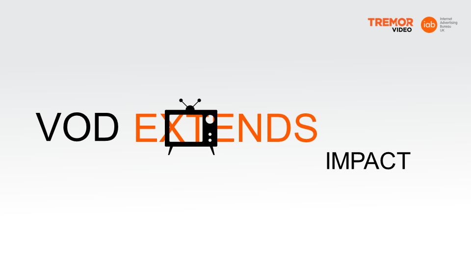 VOD EXTENDS IMPACT