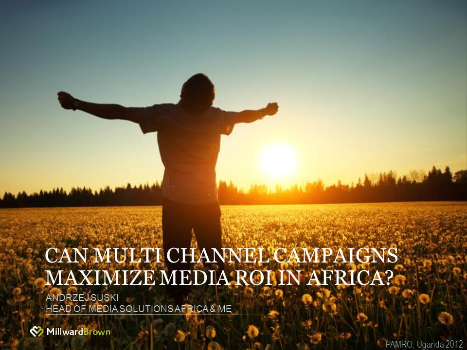 CAN MULTI CHANNEL CAMPAIGNS MAXIMIZE MEDIA ROI IN AFRICA.