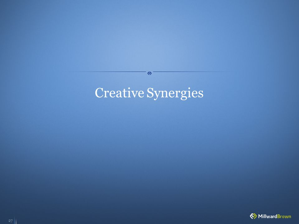 27 Creative Synergies
