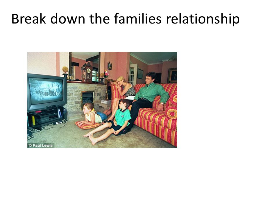 Break down the families relationship