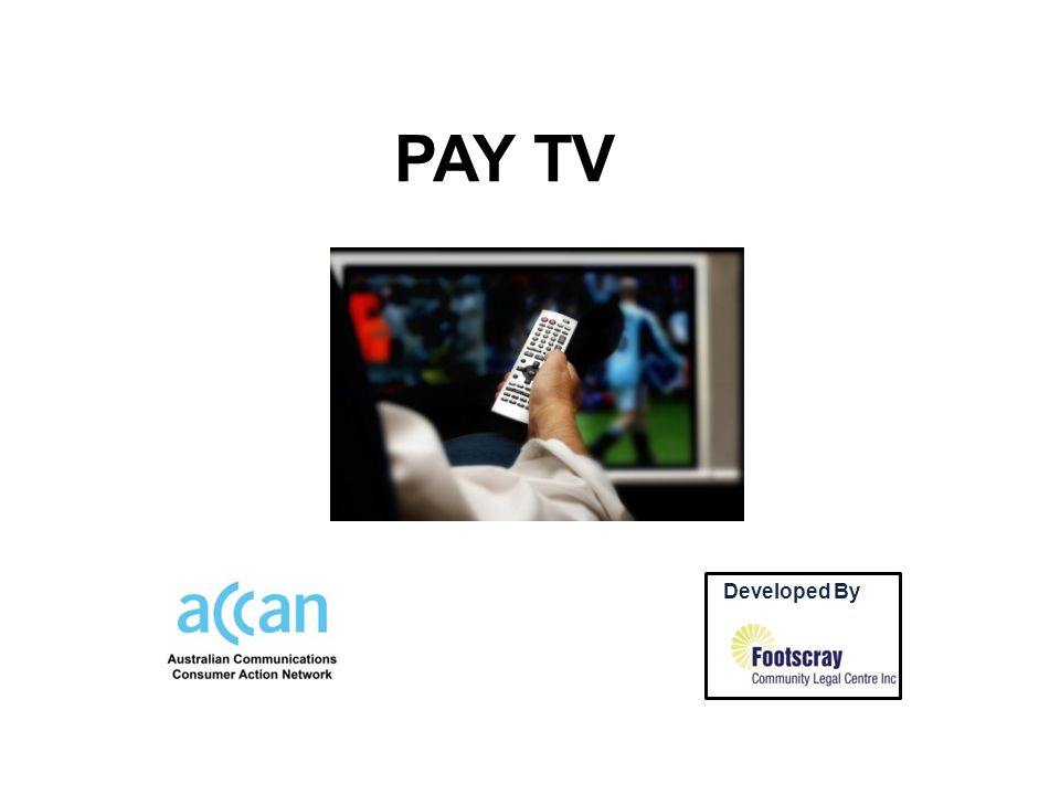 PAY TV Developed By by