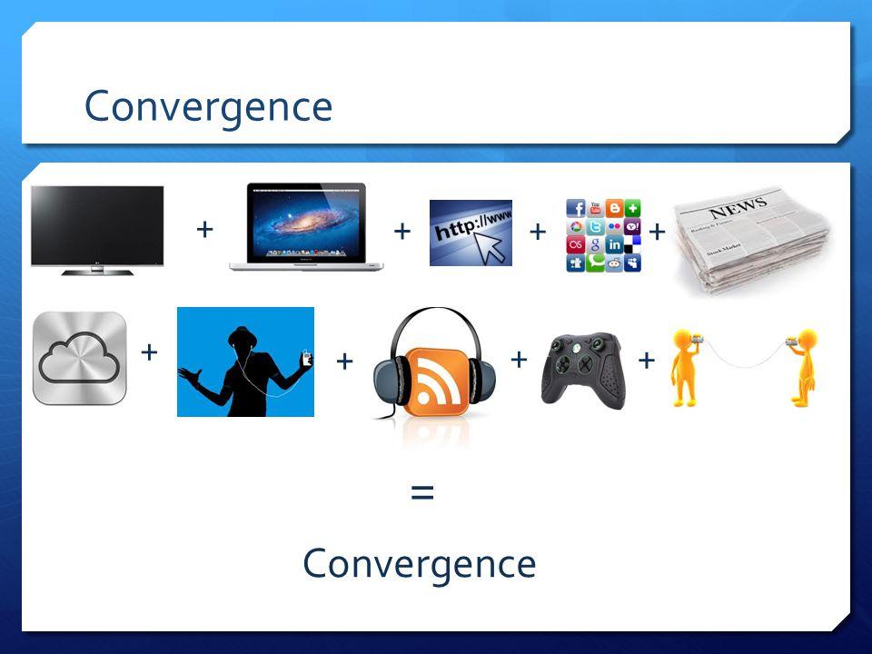 Convergence + + + + + + + + =