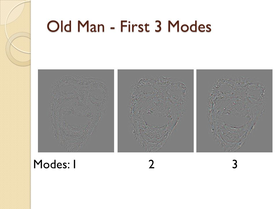 Old Man - First 3 Modes Modes: 1 2 3