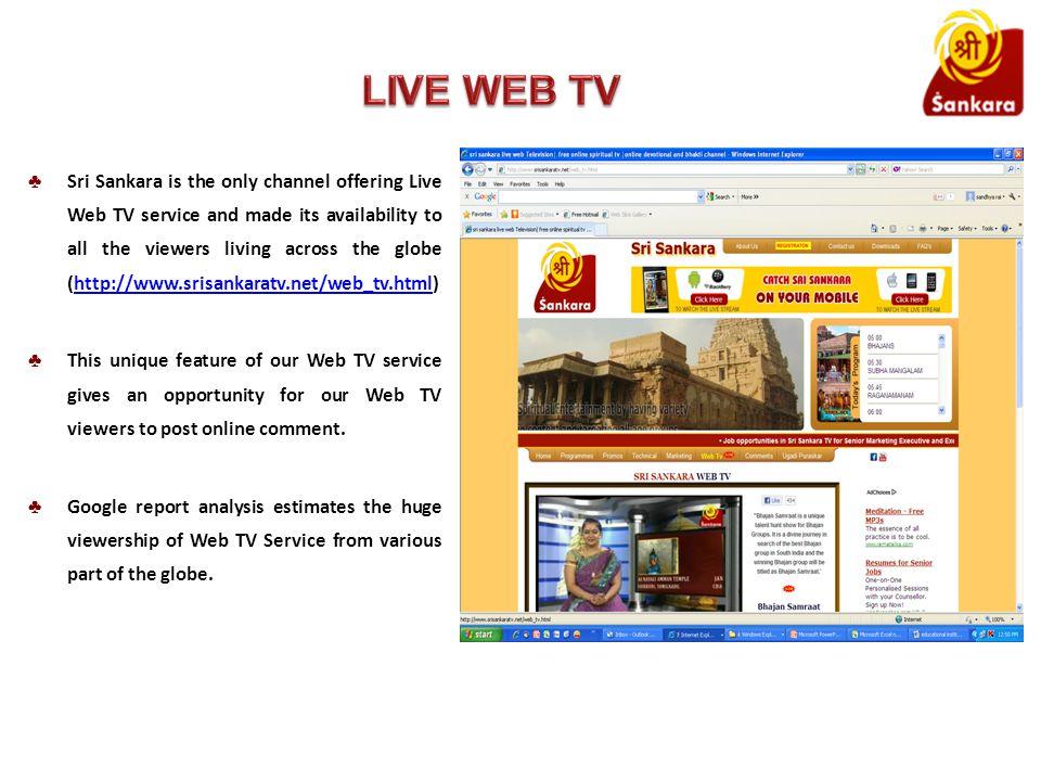 FREQUENCY DETAILS FOR CABLE OPERATORS AND MSO S ChannelSri Sankara SatelliteINTELSAT 17 AT 66 DEGREE EAST TransponderTata Communication Down Link Frequency4015 MHz Symbol Rate30.000 MSPS FEC(3/4) Video PID1701 Tamil Audio PID1702 Kannada Audio PID1703 PolarizationVertical PCR PID1701 SCR StatusFTA Audio Count2 AntennaDish Contact Address Kamadhenu Telefilms Private Limited #8/5-2, Beside MORE, New BEL Road, RMV 2nd Stage, Bangalore - 560054 E-maildistribution@srisankaratv.net Websitewww.srisankaratv.net Phone No080 - 40011222 Fax No080 - 40011210