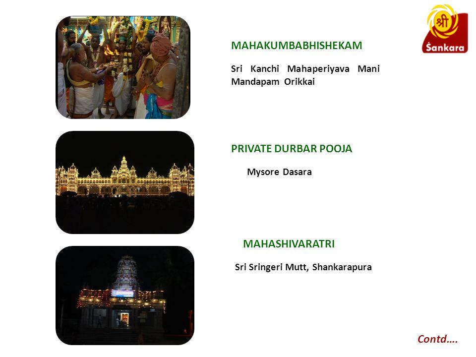 Sri Kanchi Mahaperiyava Mani Mandapam Orikkai Contd….