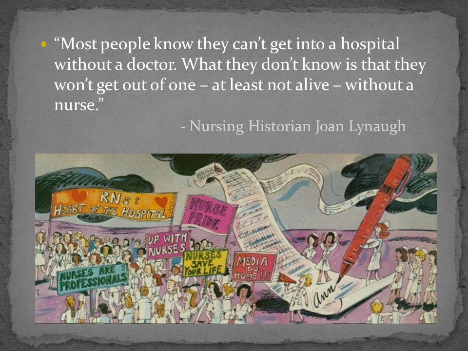 Most people know they cant get into a hospital without a doctor. What they dont know is that they wont get out of one – at least not alive – without a