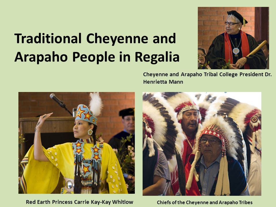 Cheyenne and Arapaho are two distinct tribes Because of the creation of Indian Reservations, many tribes were force to exist with another tribe