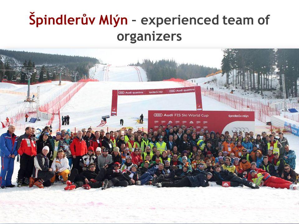 Špindlerův Mlýn – experienced team of organizers