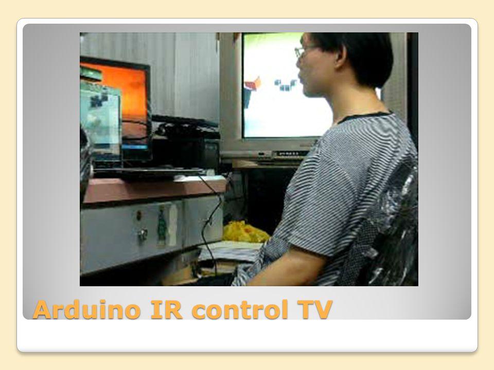 Arduino IR control TV