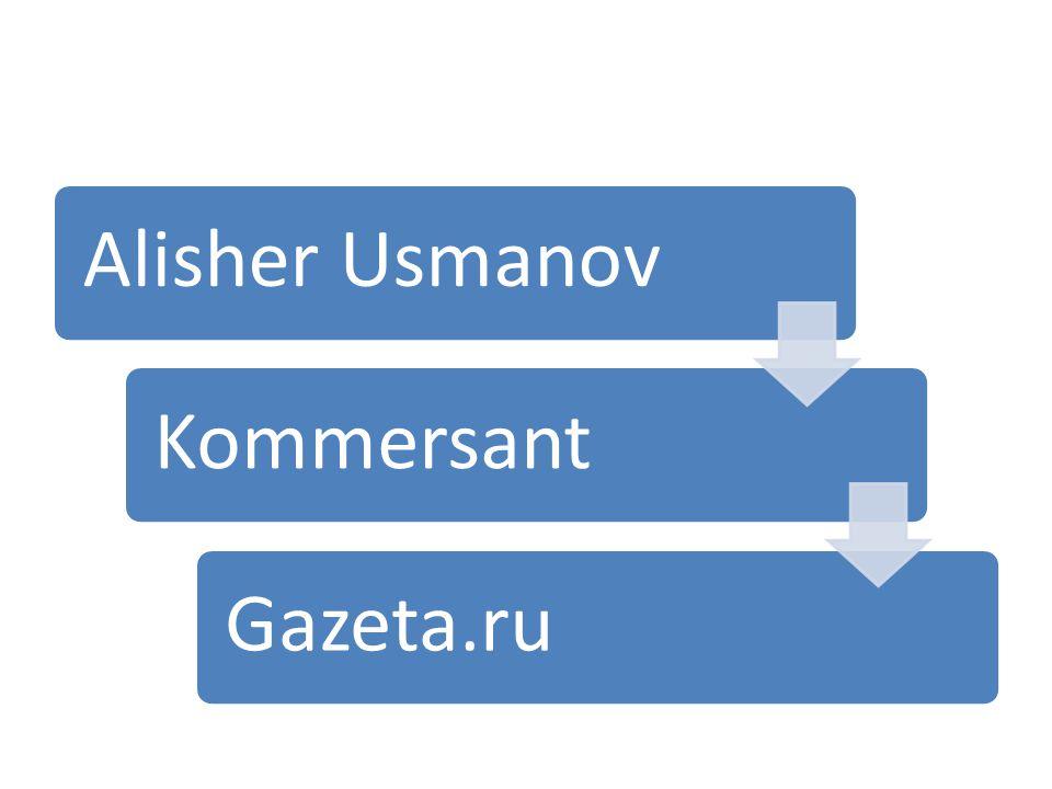 Alisher UsmanovKommersantGazeta.ru