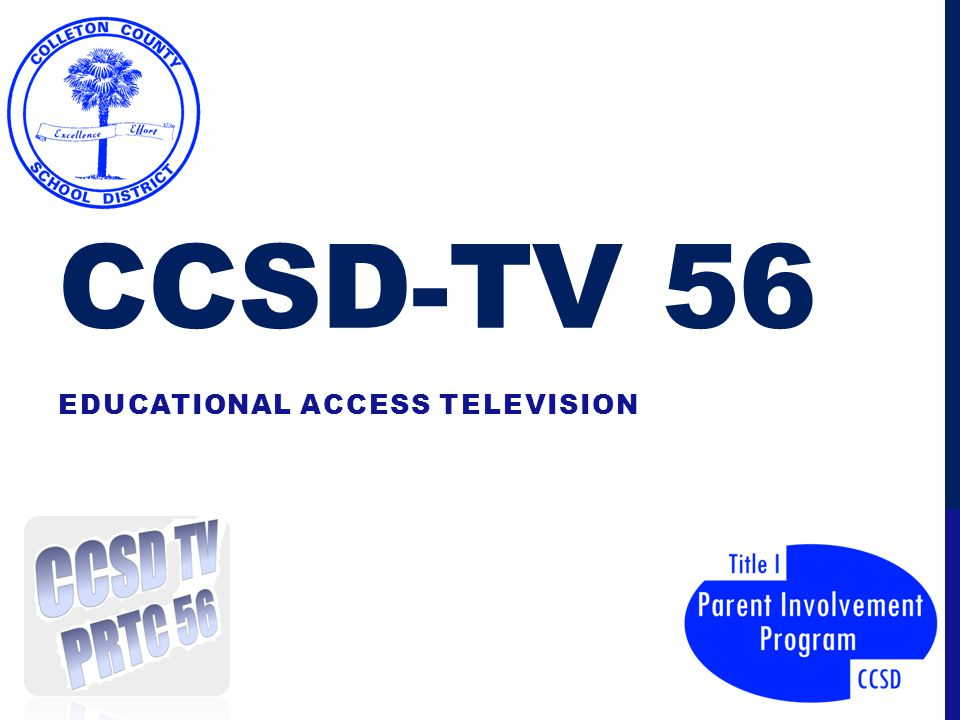 CCSD-TV 56 EDUCATIONAL ACCESS TELEVISION