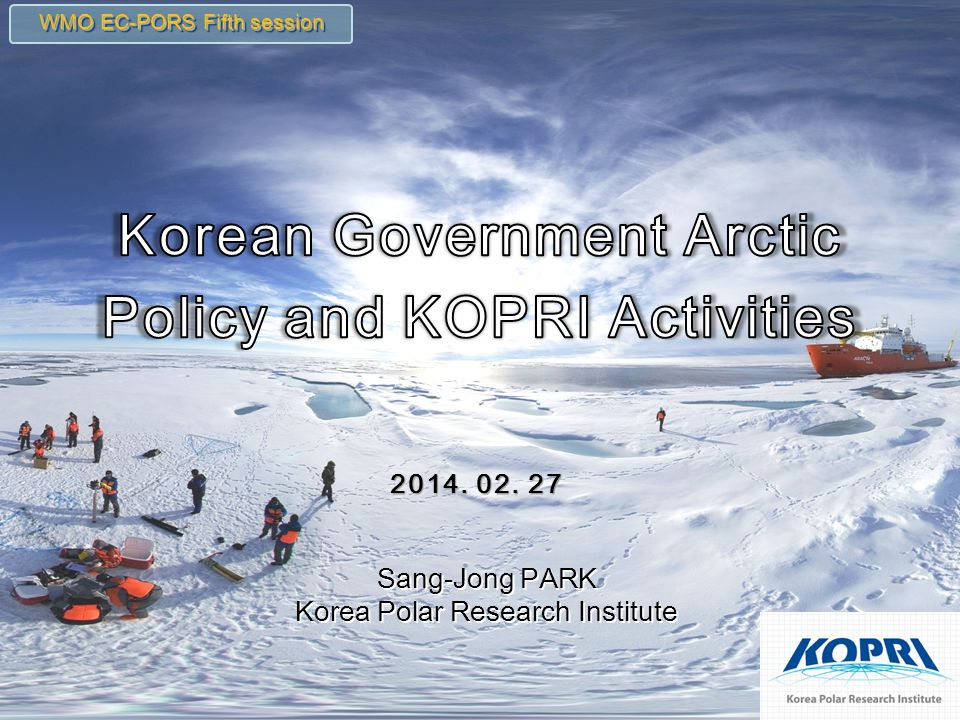 Arctic Policy KOPRI Activities 1. 2. Ny-Alesund, Svalbard