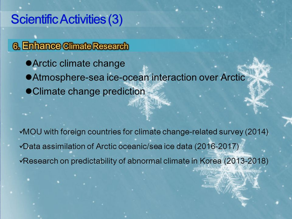 KOPRI Activities in Polar Regions 2.