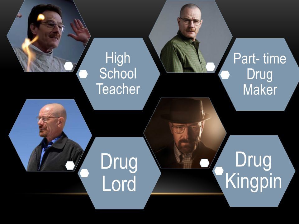 High School Teacher Part- time Drug Maker Drug Lord Drug Kingpin