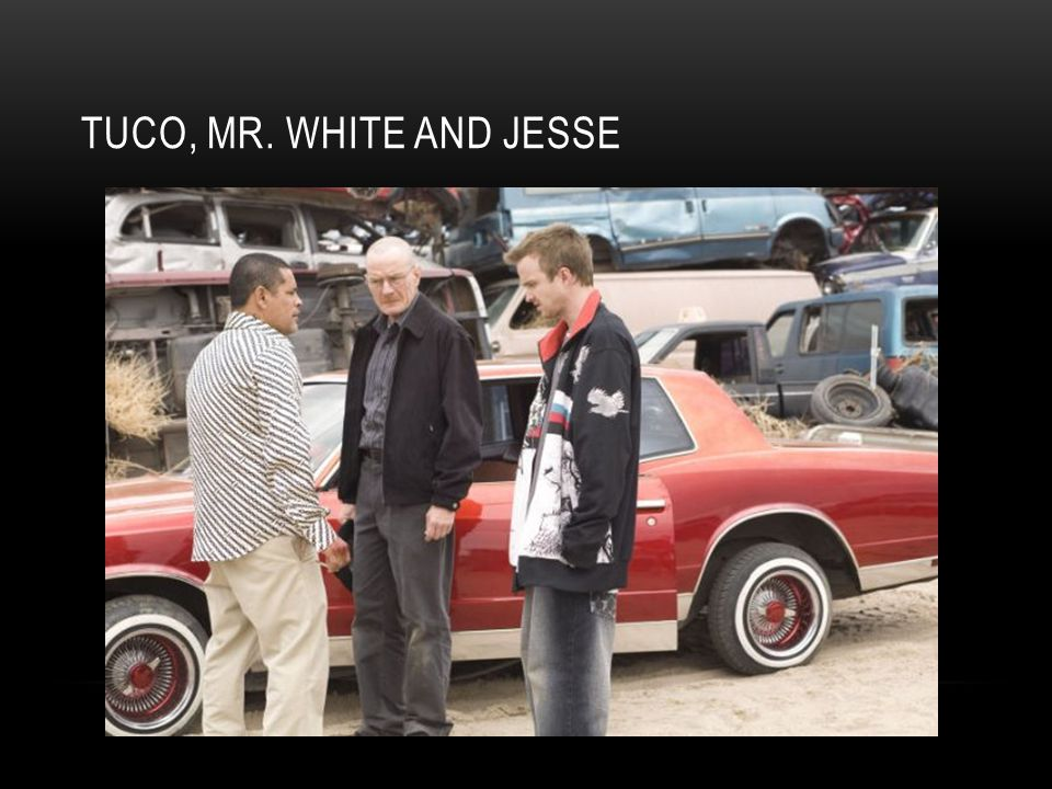 TUCO, MR. WHITE AND JESSE