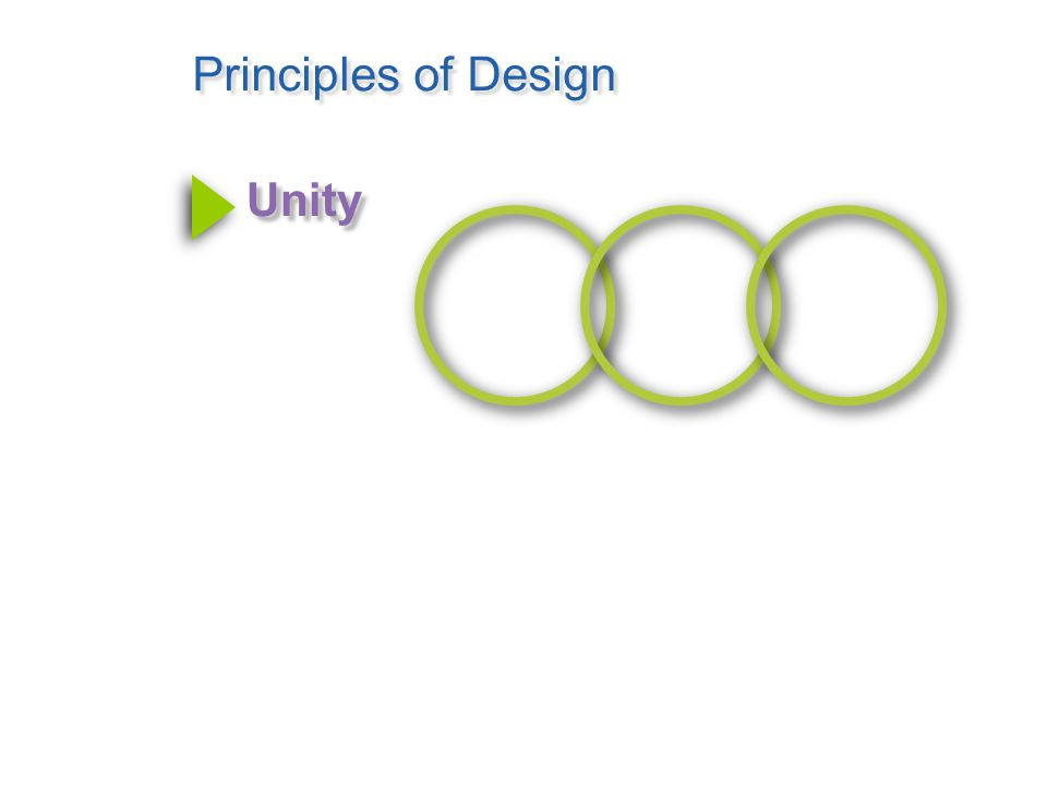 Principles of Design Order