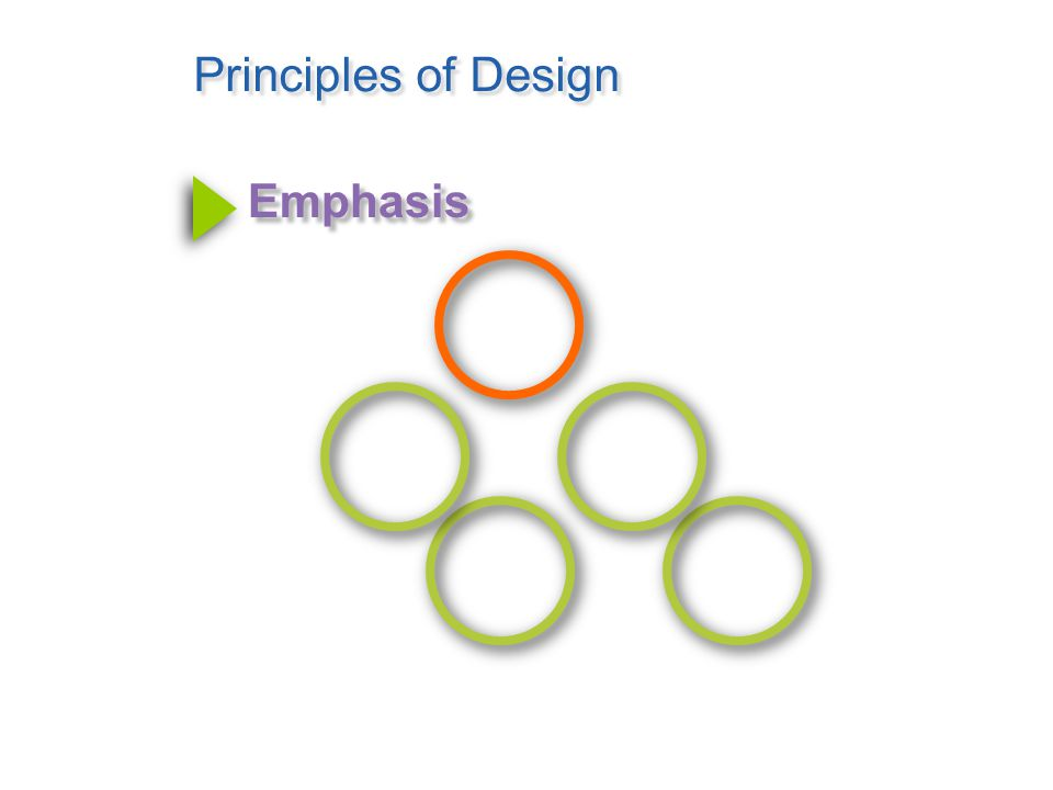 Principles of Design Unity