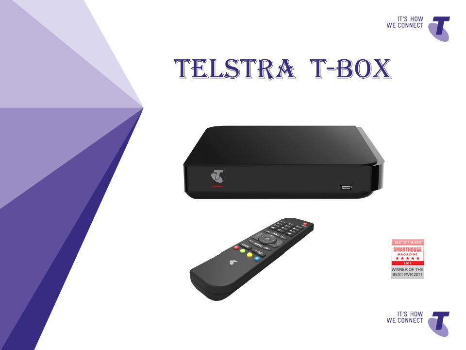 TV – The T-Box has dual terrestrial FTA tuner that allows you Pause, Rewind and Record upto three live free-to-air TV channels.