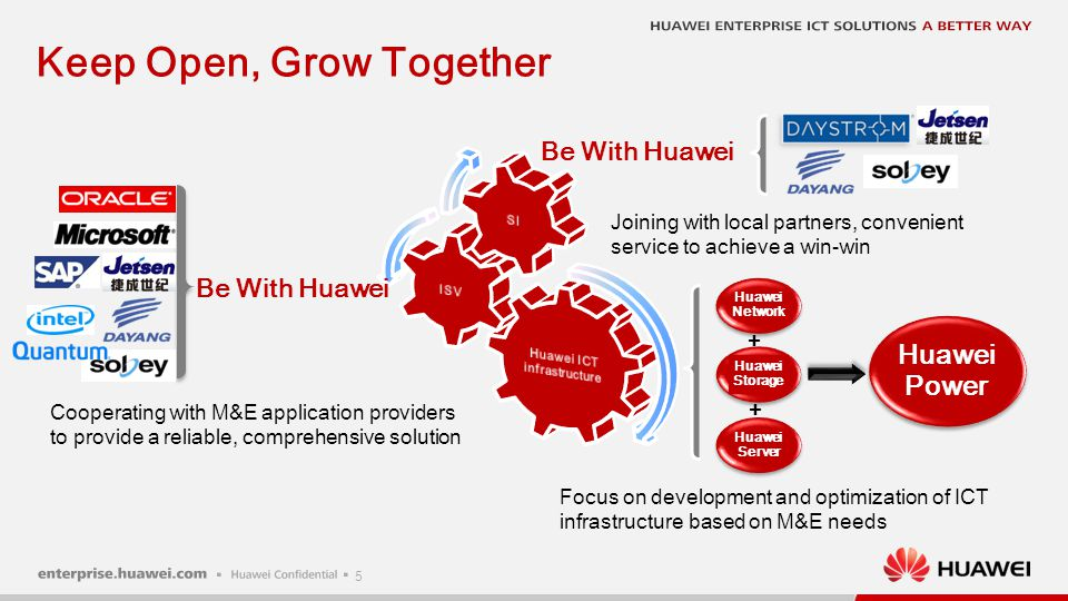 6 Customer requirement Success Story Phoenix TV Why Huawei More cases The predominant state television broadcaster in China.