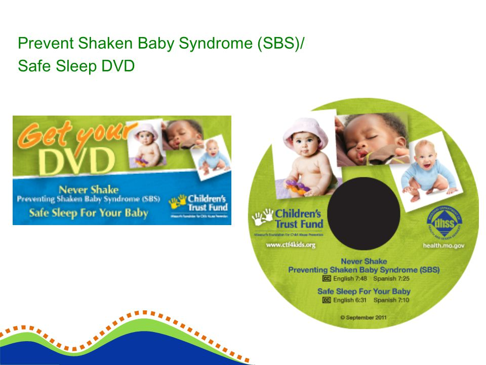 Prevent Shaken Baby Syndrome (SBS)/ Safe Sleep DVD