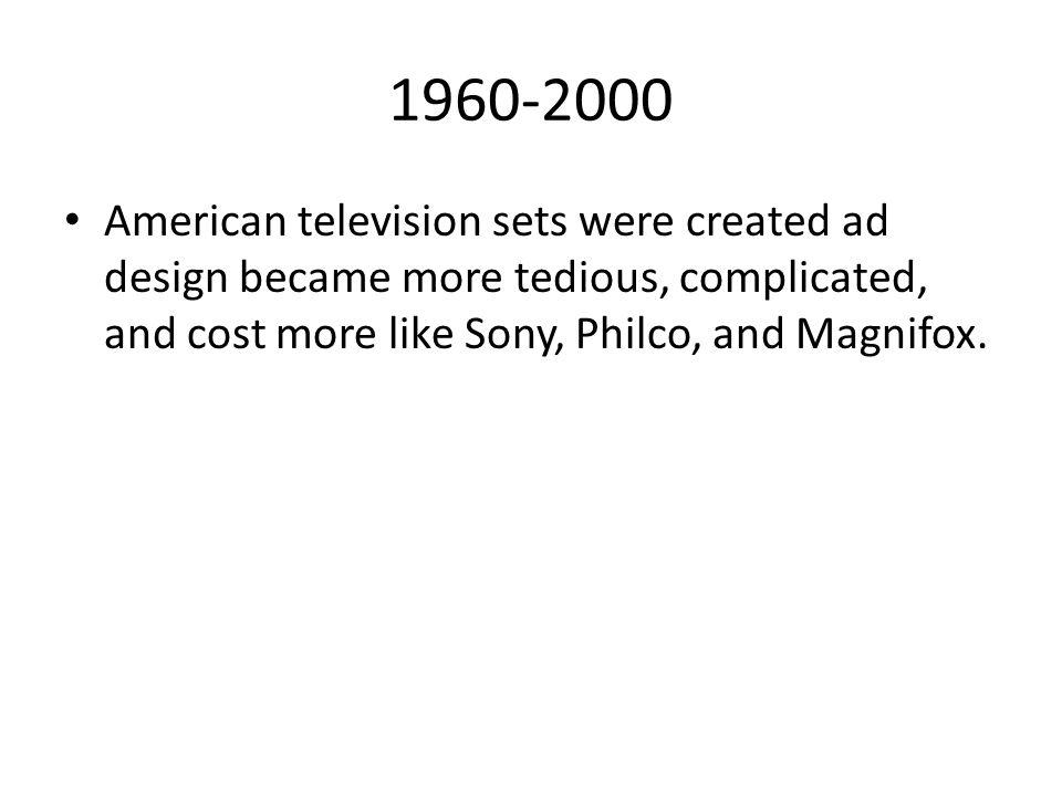 1950-1959 1957 RCA 21CD7916 1958 Philco Predicta 1969 Philco b129 1950 Bush TV 22 1955 Bush TV 53 1954 Decca 121 1952 GEC BT2147