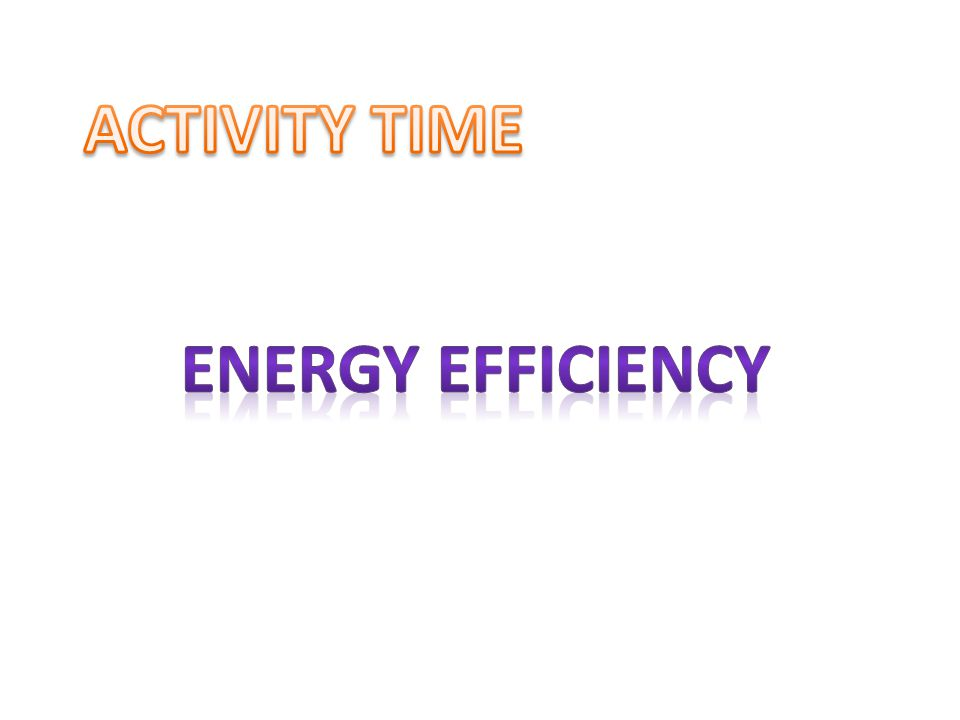 Before we start with the activity some basic terms are explained here: Wattage (w): Mentioned in the equipment for e.g.
