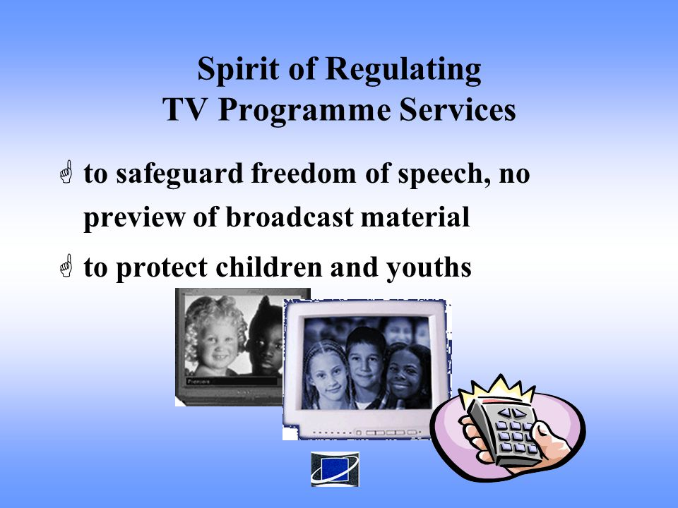 How are the Domestic Free TV Programme Services regulated? Domestic Free TV Programme Services