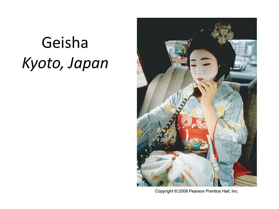 Geisha Kyoto, Japan